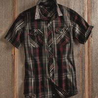 Short Sleeve Plaid Shirt Thumbnail