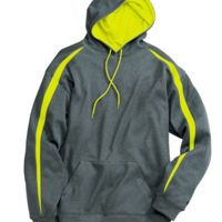 Pro Heather Fusion Performance Fleece Hooded Pullover Thumbnail