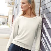 Women's Eco-Jersey Slouchy Pullover Thumbnail