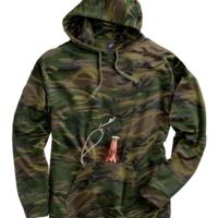 Tailgate Polyester Hooded Pullover Sweatshirt Thumbnail