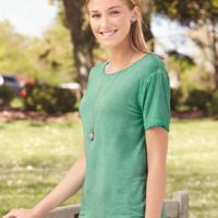 Women's Oasis Wash Drop Tail T-Shirt Thumbnail