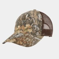Structured Camouflage Mesh Back Cap Thumbnail