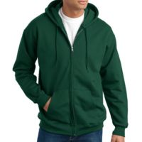 Ultimate Cotton® Full Zip Hooded Sweatshirt Thumbnail