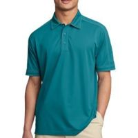 Contrast Stitch Micropique Sport Wick® Polo Thumbnail
