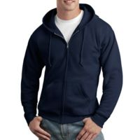 ComfortBlend® EcoSmart® Full Zip Hooded Sweatshirt Thumbnail