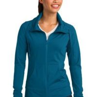 Ladies Sport Wick ® Stretch Full Zip Jacket Thumbnail